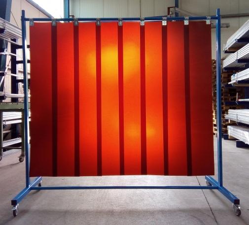 Schweißerschutzvorhang 1teilig Foto 1